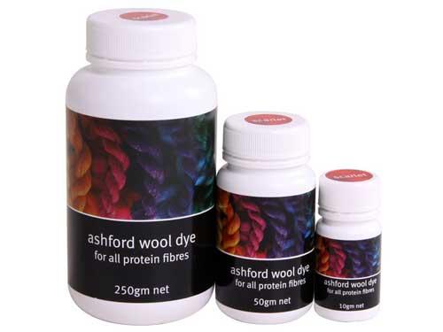 Ashford Farben 10g - Färbemittel - Das Wollschaf (natürlich & kreativ)